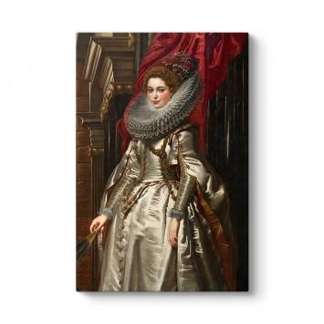 Peter Paul Rubens - Marchesa Brigida Spinola Doria Tablosu