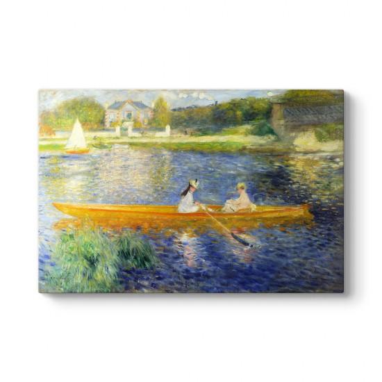 Pierre Auguste Renoir - Kayık Tablosu