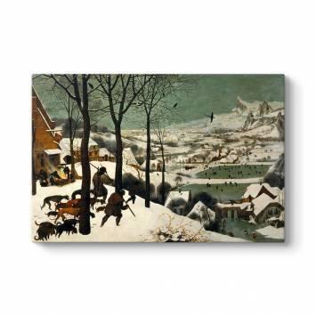 Pieter Brueghel - Karda Avcılar Kanvas Tablo
