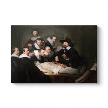 Rembrandt - Dr. Nicolaes Tulp'un Anatomi Dersi Tablosu