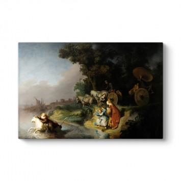 Rembrandt - Europa'nın Kaçırılması Tablosu