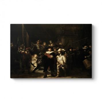 Rembrandt - Gece Devriyesi Tablosu