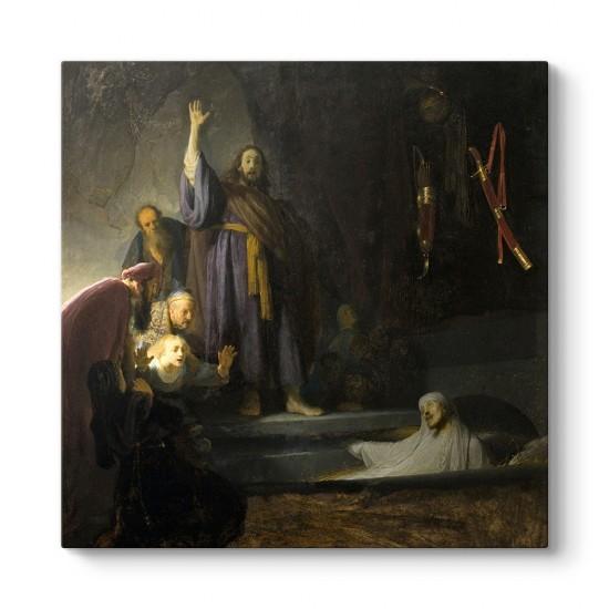 Rembrandt - Lazarus'un Yükselişi Tablosu