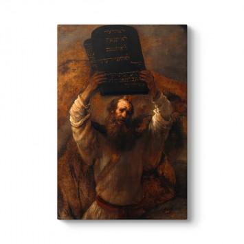 Rembrandt - Musa ve On Emir Tablosu