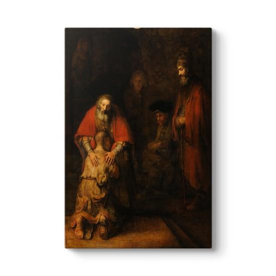 Rembrandt - Savurgan Oğul'un Dönüşü Tablosu