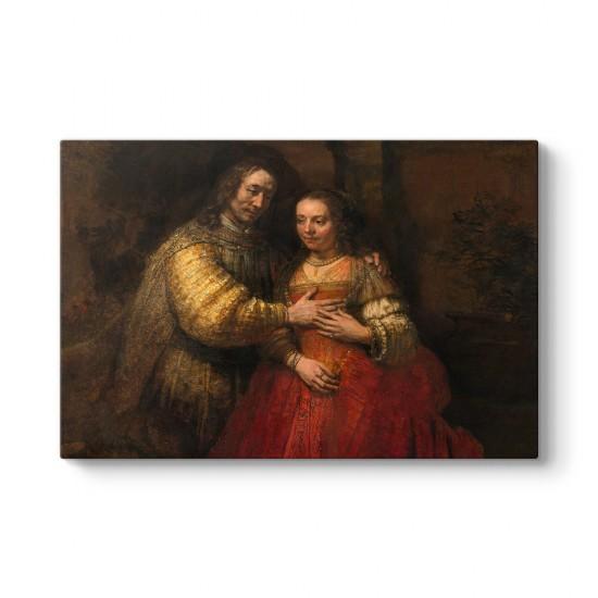 Rembrandt - Yahudi Gelini Tablosu