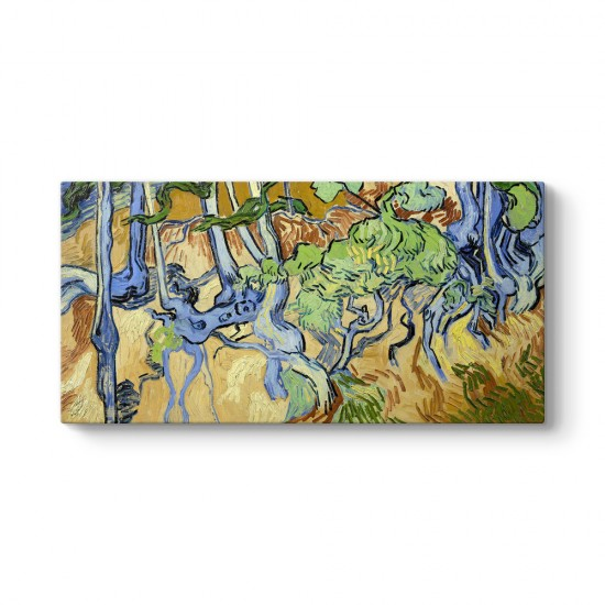 Vincent Van Gogh - Ağaç Kökleri Tablosu