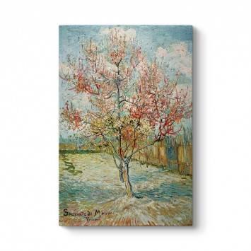 Vincent Van Gogh - Pembe Şeftali Ağaçları Tablosu