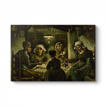 Vincent Van Gogh - The Potato Eaters Tablosu