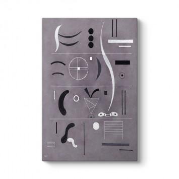 Wassily Kandinsky - Dört Parça Tablosu
