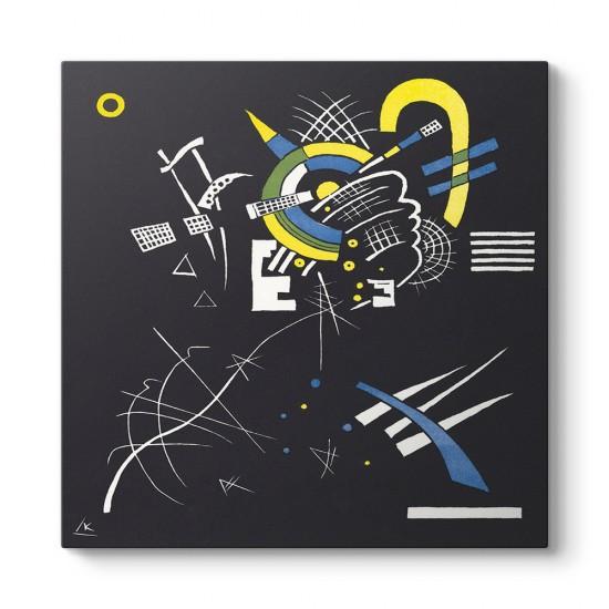 Wassily Kandinsky - Küçük Dünyalar Tablosu