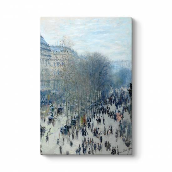 Claude Monet - Paris Bulvarı Kanvas Tablo