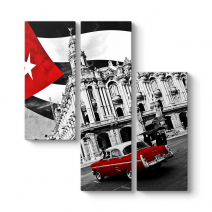 Küba Havana Araba Tablosu