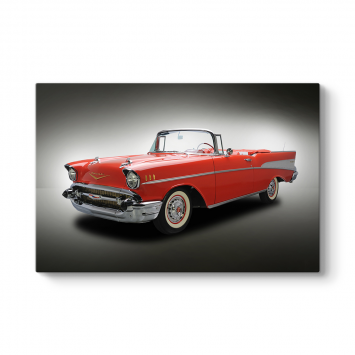 1957 Model Chevrolet Tablosu