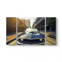 Mavi Mustang Tablosu