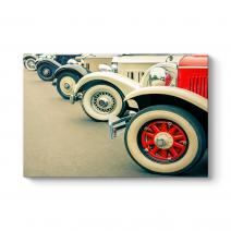 Klasik Araba Tekerleri Tablosu