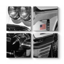 Klasik Amerikan Arabası Tablosu