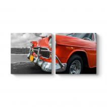 Siyah Beyaz Chevrolet Tablosu