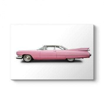 Pembe Cadillac Tablosu