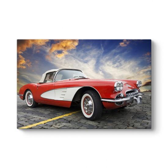1957 Model Corvette Tablosu