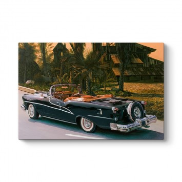 1955 Model Oldsmobile Starfire Tablosu