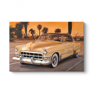 Klasik Cadillac Tablosu