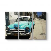 Eski Küba Arabası Tablosu