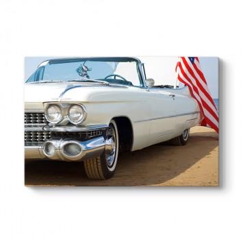 Beyaz Cadillac Tablosu