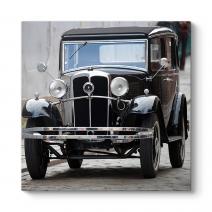 Siyah Eski Araba Tablosu