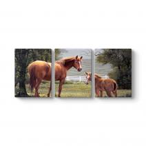 Yağlıboya Atlar Tablosu