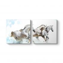 Buzda Koşan Atlar Tablosu