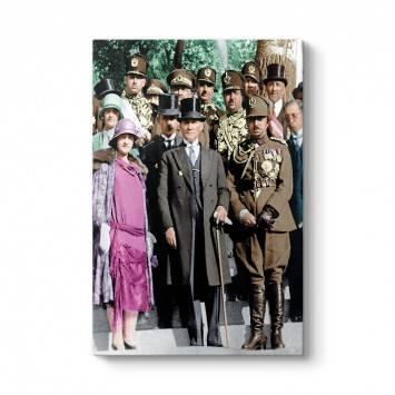 Atatürk ve Latife Hanım Tablosu