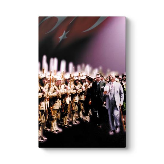 Atatürk ve Askerler Tablosu