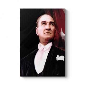 Atatürk Yağlıboya Tablosu