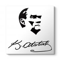 Atatürk Hürriyet İmza Tablosu