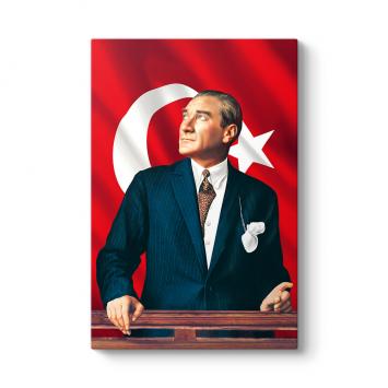 Atatürk Göğe Bakarken Tablosu