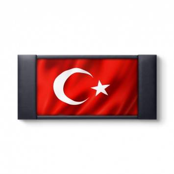 Türk Bayrağı Makam Odası Tablosu