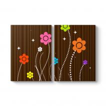 Floral Pattern Tablosu