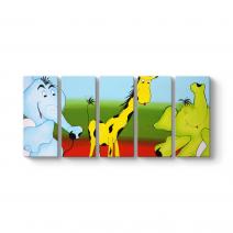 Küçük Zürafa Tablosu