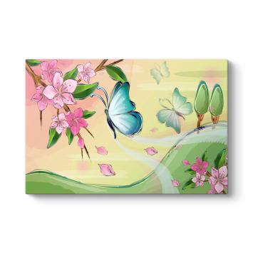 Uçan Kelebekler Tablosu