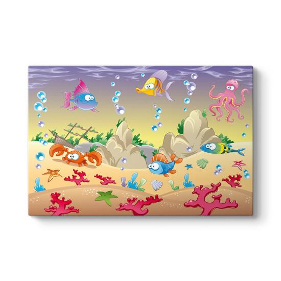 Deniz Hayvanları Tablosu