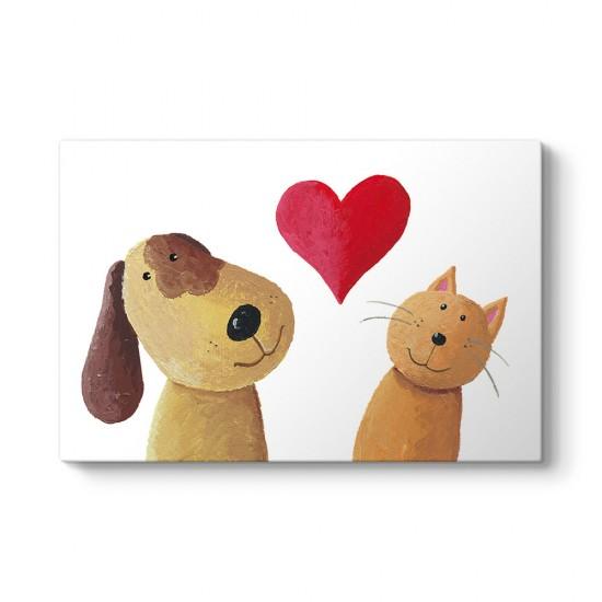 Kedicik ve Köpek Tablosu