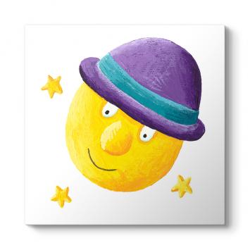 Şapkalı Güneş Tablo