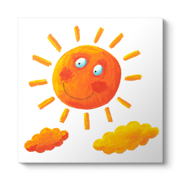 Neşeli Güneş Tablosu