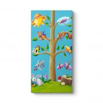 Ağaç ve Hayvanlar Tablosu