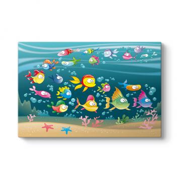 Renkli Balıklar Tablosu