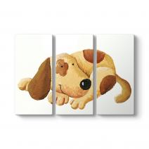 Kahverengi Sevimli Köpek Tablosu