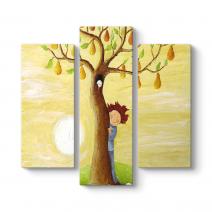Çocuk ve Ağaç Tablosu