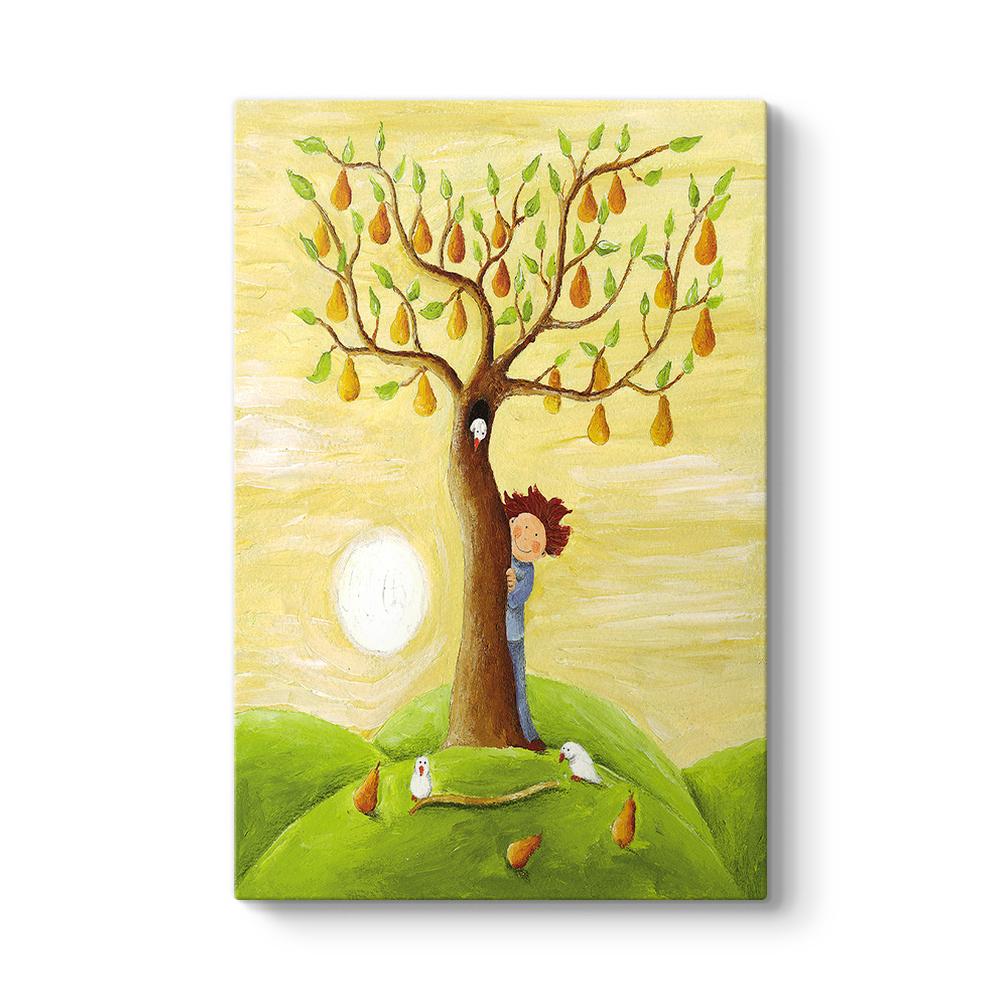 Ağaç Tabloları Yağlıboya Soyut Ağaç Tabloları