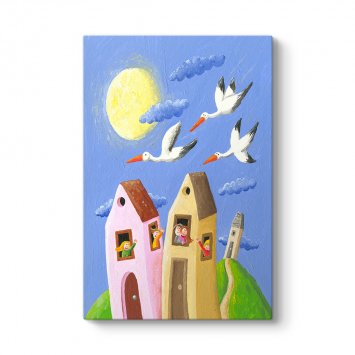 Kuşlar ve Ev Tablosu